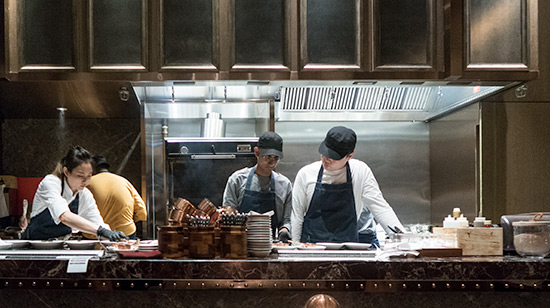 665 Steakhouse Halal Andaz Hyatt Singapore Open kitchen