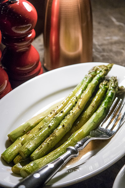 665 Steakhouse Halal Andaz Hyatt Singapore Asparagus