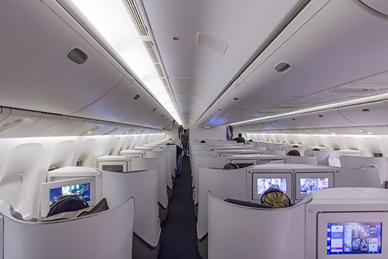 Air France New Business Class Cabin
