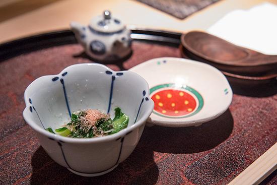 Otoshi at Les Amis Group Aoki Japanese Restaurant