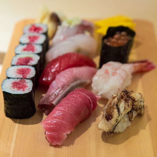 Nigiri Sushi Tokusen at Les Amis Group Aoki Japanese Restaurant