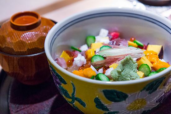 Maze Chirashi at Les Amis Group Aoki Japanese Restaurant