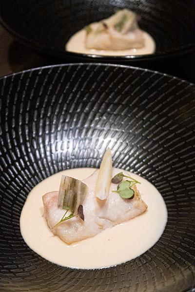 Aura National Gallery Singapore Seabass & Celeriac