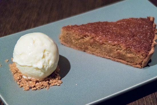 Gordon Ramsay Bread Street Kitchen Singapore Treacle Tart