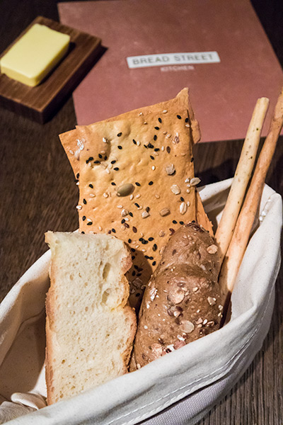 Gordon Ramsay Bread Street Kitchen Singapore Bread and Butter