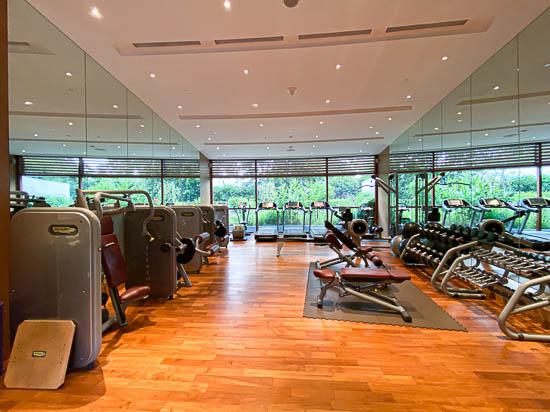 Capella Singapore Gymnasium