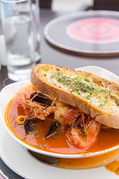 Six Days in Cape Town Itinerary Seafood Soup Greek Fisherman
