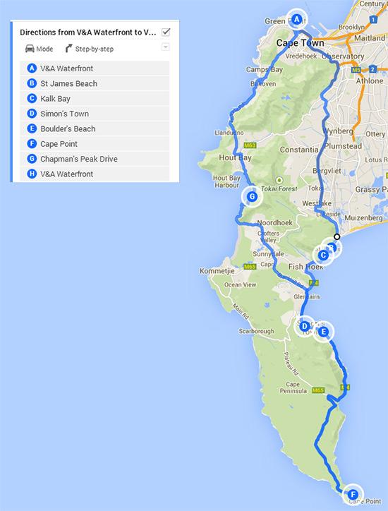 Six Days In Cape Town Cape Peninsula Drive