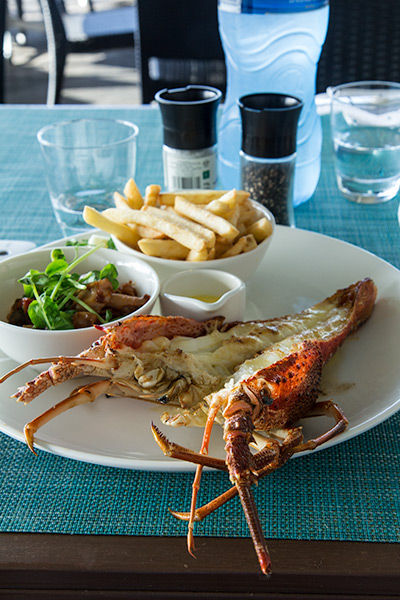 Six Days In Cape Town Cape Rock Lobster Platter