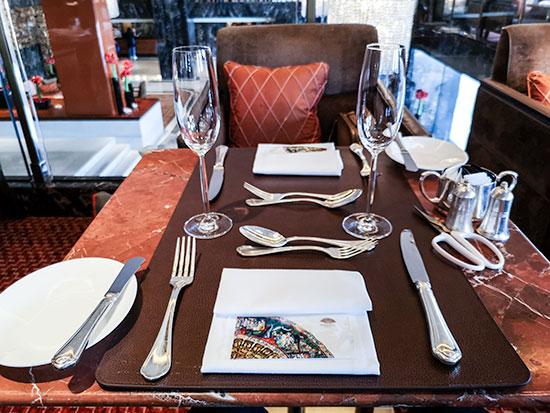 Clipper Lounge Mandarin Oriental Hong Kong Sunday Brunch