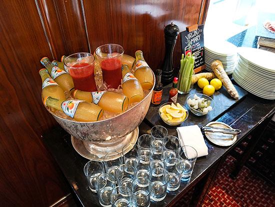 Clipper Lounge Mandarin Oriental Hong Kong Sunday Brunch Drinks