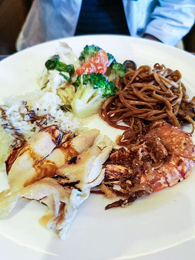 Clipper Lounge Mandarin Oriental Hong Kong Sunday Brunch Hot Dishes