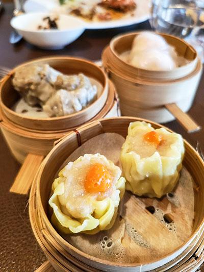 Clipper Lounge Mandarin Oriental Hong Kong Sunday Brunch Dim Sum