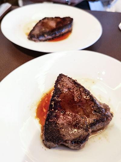 Clipper Lounge Mandarin Oriental Hong Kong Sunday Brunch Seared Wagyu Beef