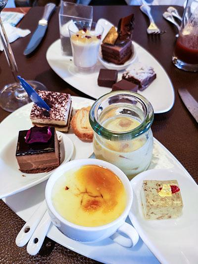 Clipper Lounge Mandarin Oriental Hong Kong Sunday Brunch Desserts
