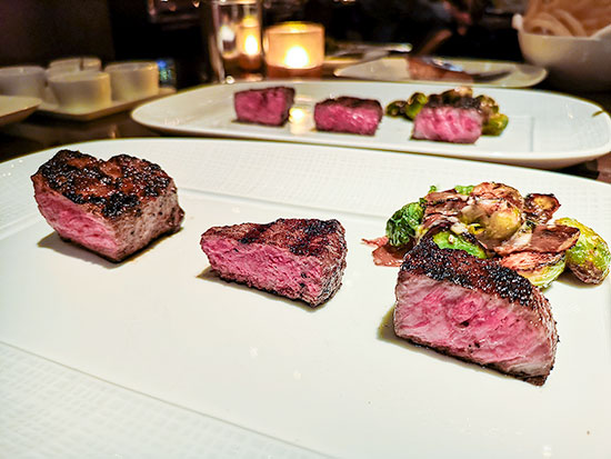 Cut Wolfgang Puck Tasting of New York Sirloin