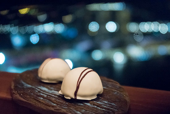 Equinox Restaurant Singapore Petit Fours