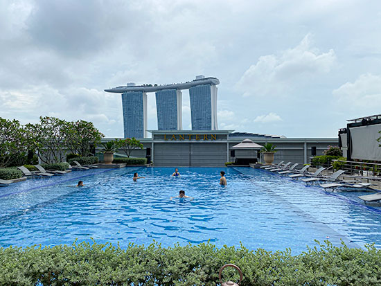 The Fullerton Bay Hotel Pool