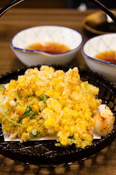 Fukuichi Japanese Dining Corn Tempura