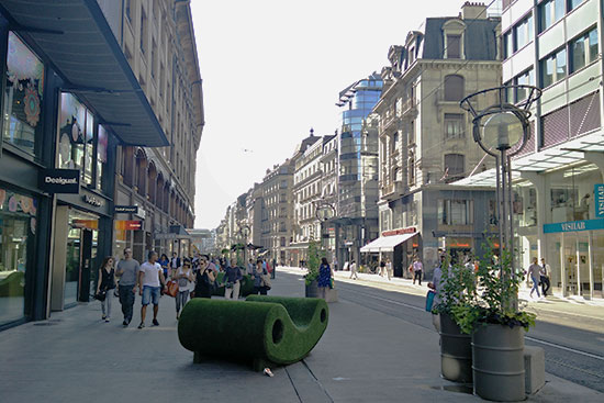 Geneva Shopping Street