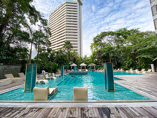 Grand Hyatt Singapore Swimming Pool