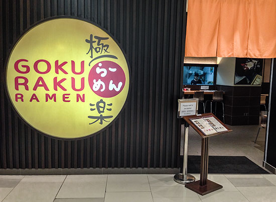 Goku Raku Ultimate Ramen in Paradigm Mall
