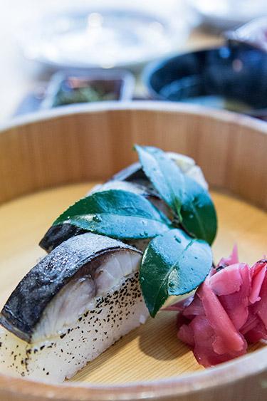 Hanaore best mackerel sabazushi in Kyoto