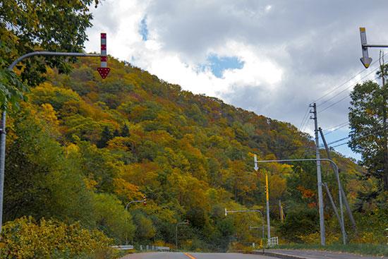 Hokkaido Autumn Guide Furano Biei Sounkyo Onsen road