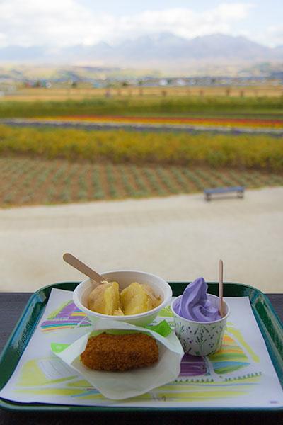 Hokkaido Autumn Guide Furano Farm Tomita Snacks