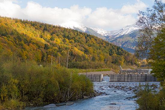Hokkaido Autumn Guide Biei Blue Pond