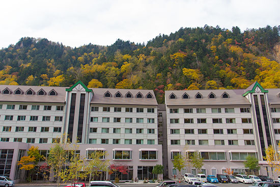 Hokkaido Autumn Guide Sounkyo Onsen Choyo Resort
