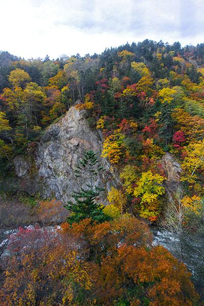 Hokkaido Autumn Guide Choyo Resort Hotel view