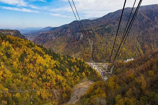 Hokkaido Autumn Guide Mt Kurodake Ropeway