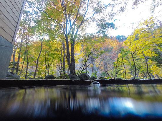 Hokkaido Autumn Guide Sounkyo Onsen Rotenburo