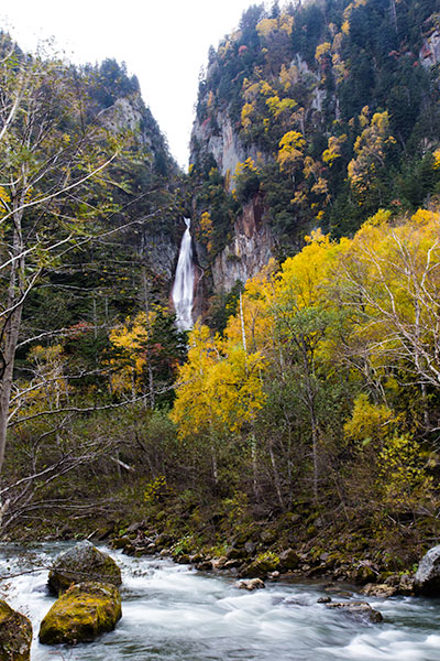 Hokkaido Autumn Guide Ginga no taki