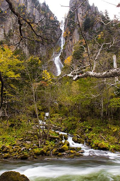 Hokkaido Autumn Guide Ryusei no taki