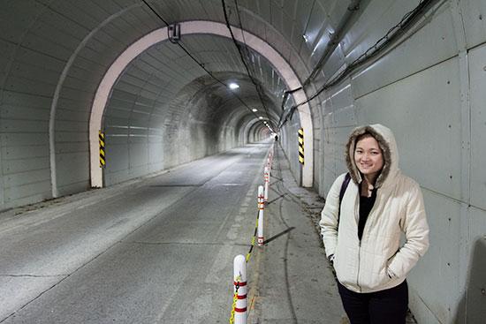 Hokkaido Autumn Guide Hoheikyo Dam Tunnel