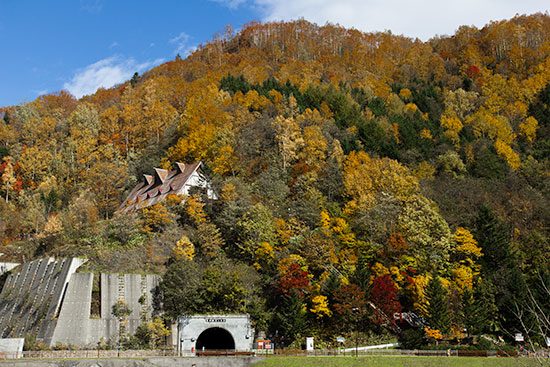 Hokkaido Autumn Guide Hoheikyo Dam