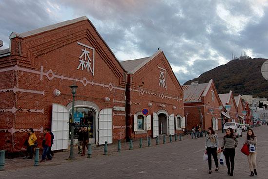 Hokkaido Autumn Guide Hakodate Red Brick Warehouse
