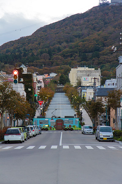 Hokkaido Autumn Guide Hakodate Motomachi Slope