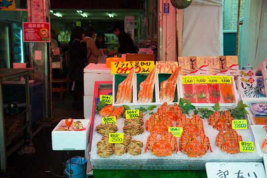 Hokkaido Autumn Guide Mount Hakodate Morning Market