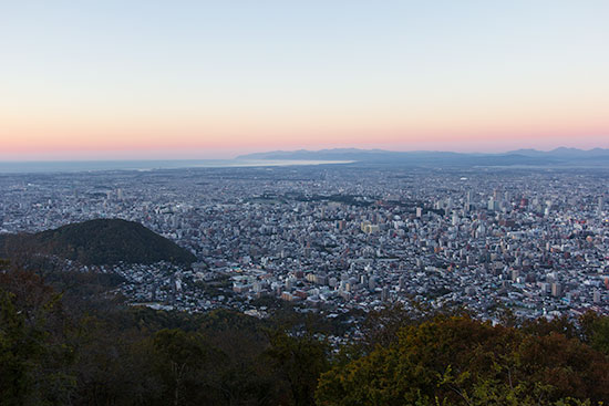 Hokkaido Autumn Guide Mount Moiwa Sapporo