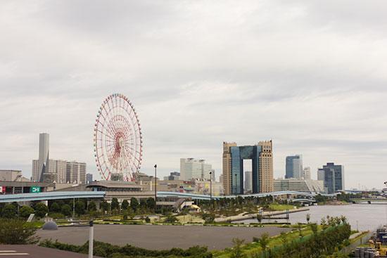 Odaiba view from Yurikamome