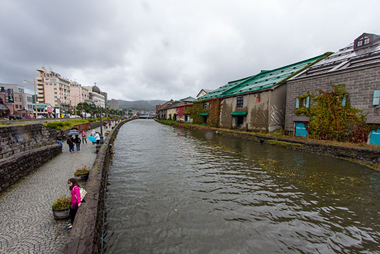 Hokkaido Autumn Guide Otaru Canal