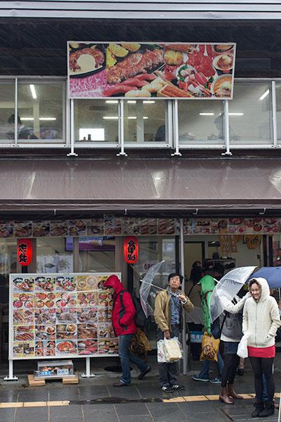 Hokkaido Autumn Guide Sakaimichi shopping street