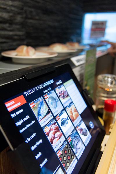Ryoshi Sushi Ikeikemaru iPad Ordering System
