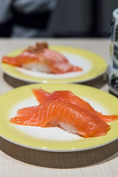 Ryoshi Sushi Ikeikemaru Salmon
