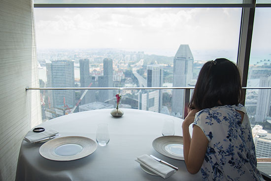 Singapore Best Restaurants Jaan Great View