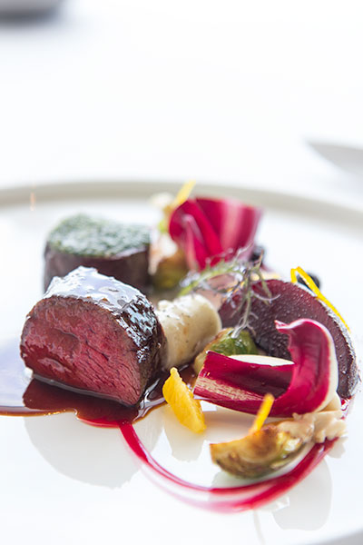 Singapore Best Restaurants Jaan Roasted Venison Loin