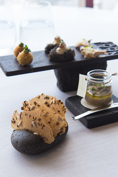 Singapore Best Restaurants Jaan Pre Lunch Canapes